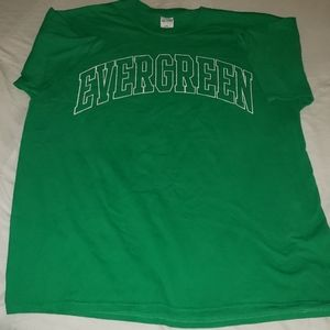Evergreen cotton tee